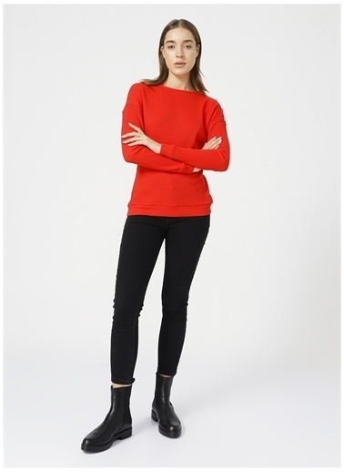 Fashion Friends Sweatshirt Kırmızı